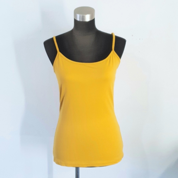 Maurices Mustard Yellow Tank Top